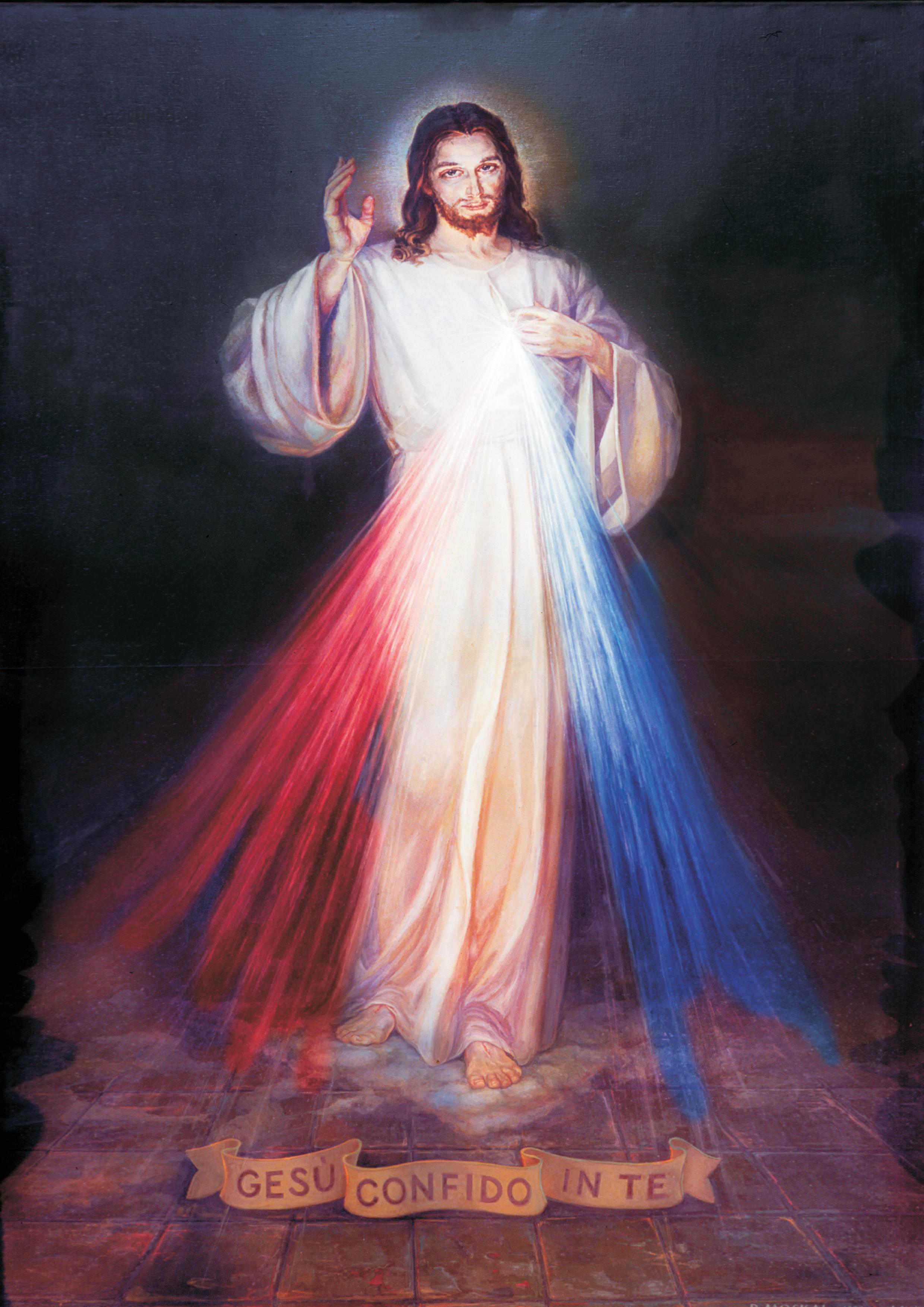 Medalla de la Divina Misericordia (Jesús))