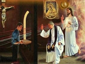 Confesión. Jesucristo y la confesión.