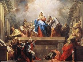 Pentecostes, Venida del Espíritu Santo