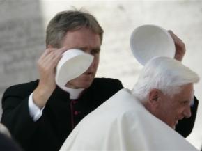 Benedicto XVI y el viento