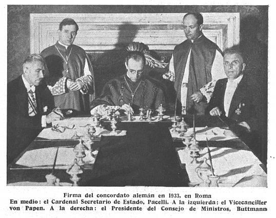 Firma del Concordato Imperial