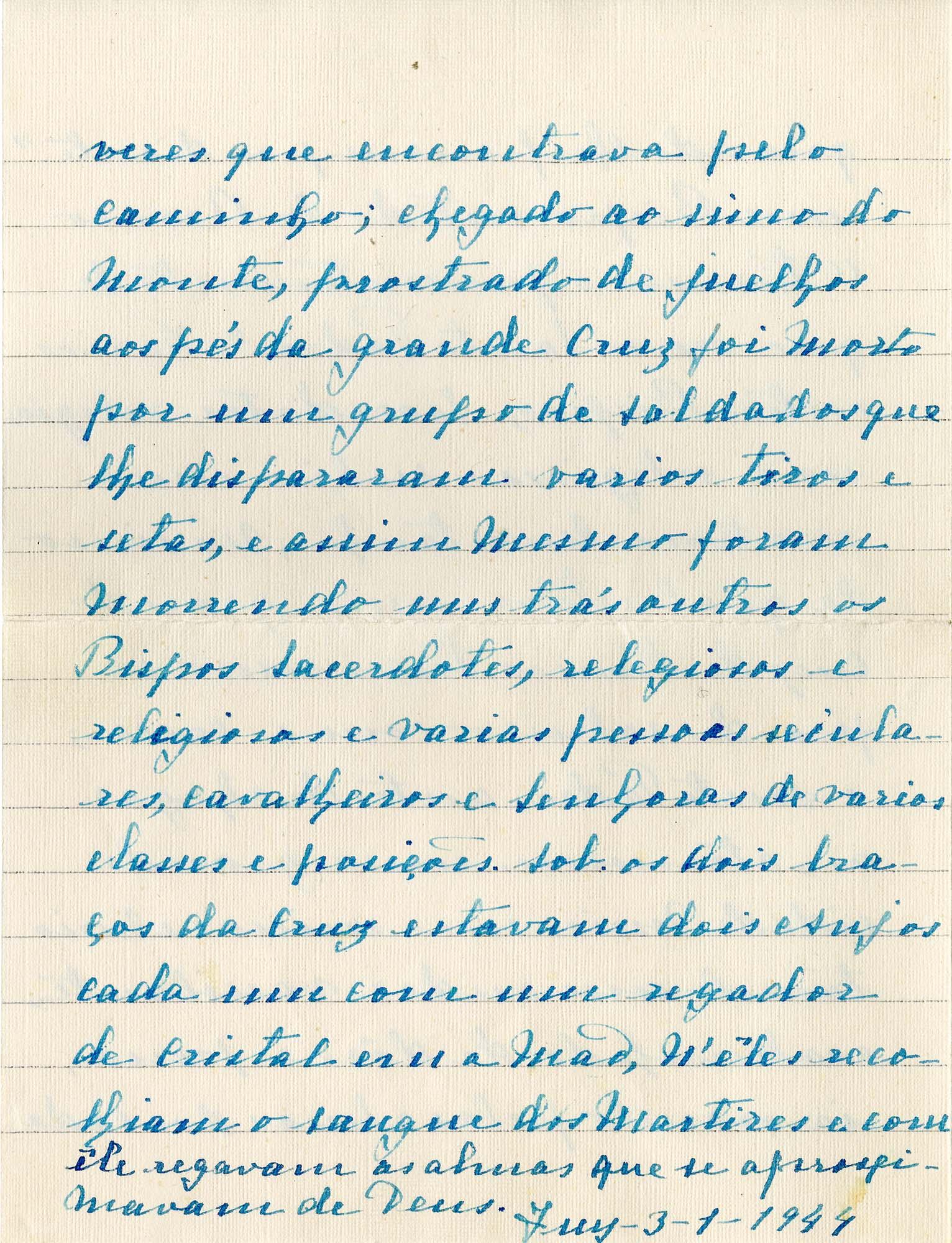 Transcripción del manuscrito